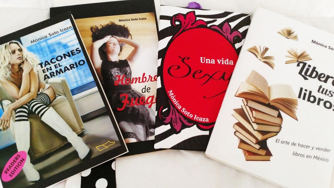 Libros Mónica Soto Icaza